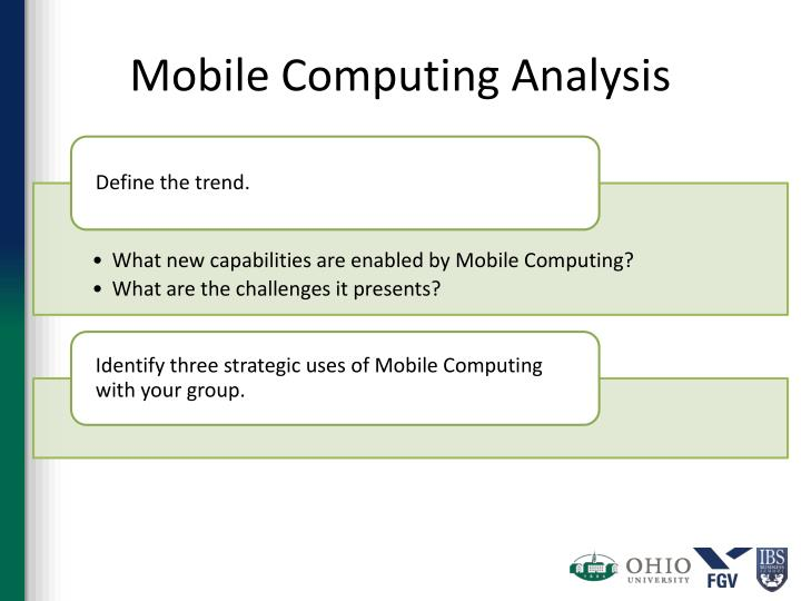 Mobile Computing Analysis