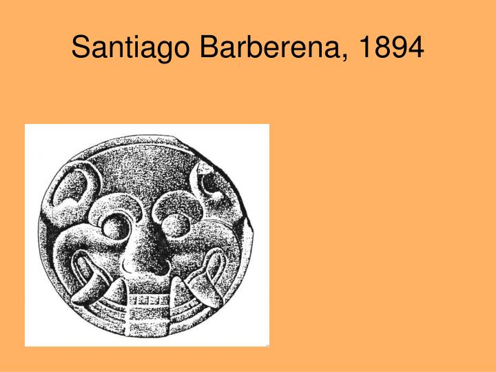 Santiago Barberena, 1894
