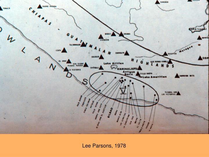Lee Parsons, 1978