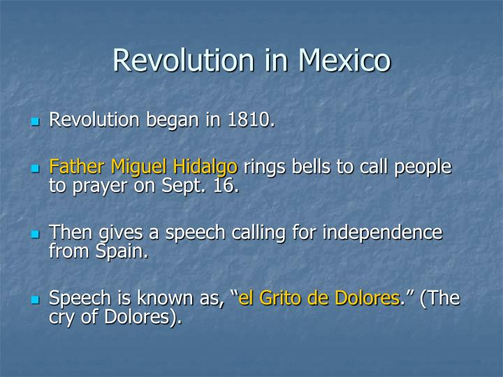 Revolution in Mexico
