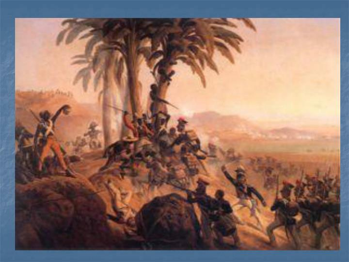 Revolutions in haiti and mexico