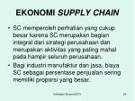 ekonomi supply chain