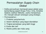 permasalahan supply chain global