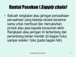 rantai pasokan supply chain