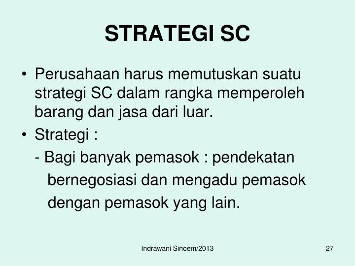 STRATEGI SC
