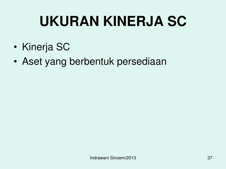 UKURAN KINERJA SC