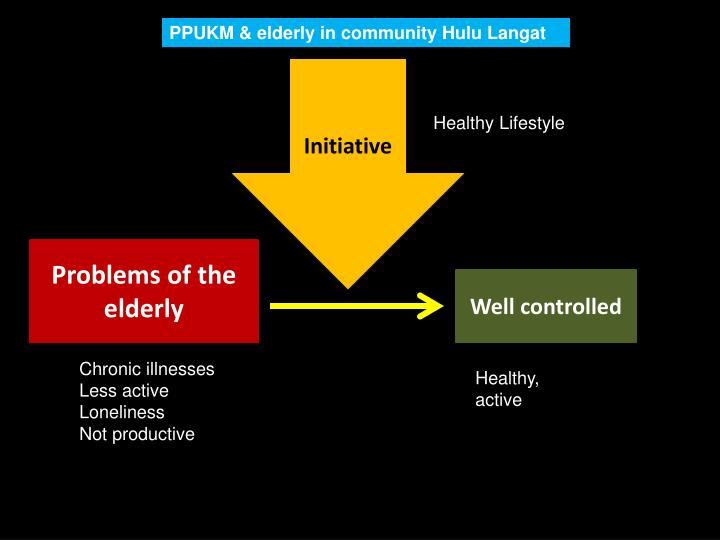 PPUKM & elderly in community Hulu Langat