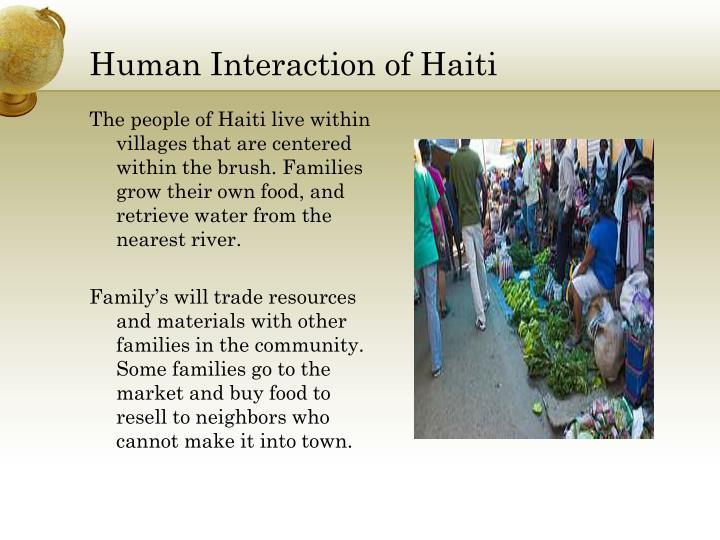 Human Interaction of Haiti