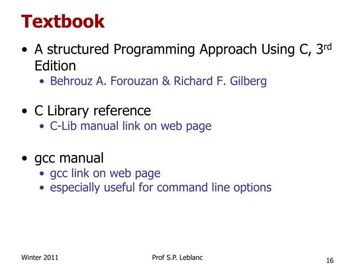 Textbook