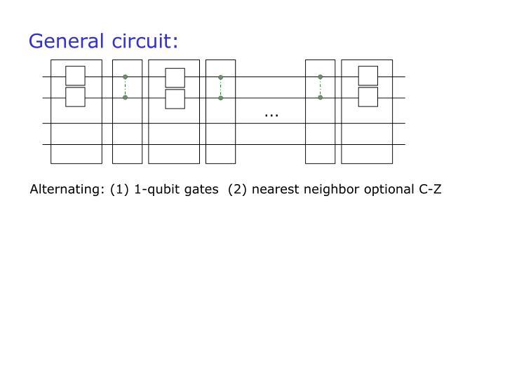 General circuit:
