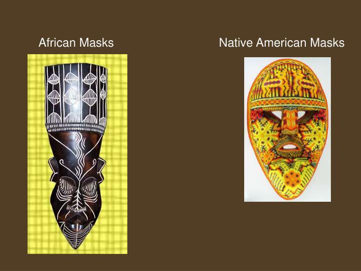 African MasksNative American Masks
