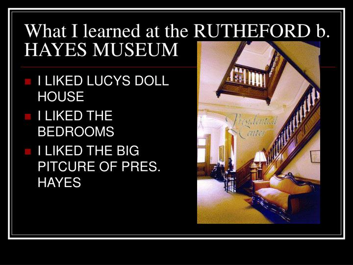 I LIKED LUCYS DOLL HOUSE