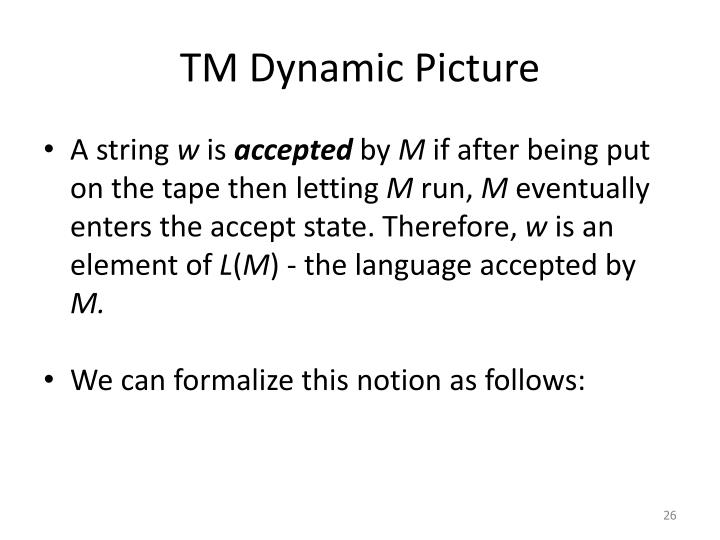 TM Dynamic Picture
