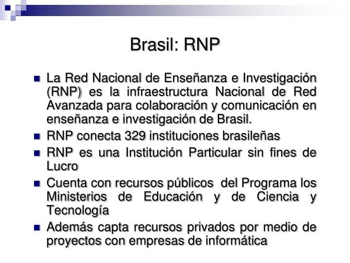 Brasil: RNP