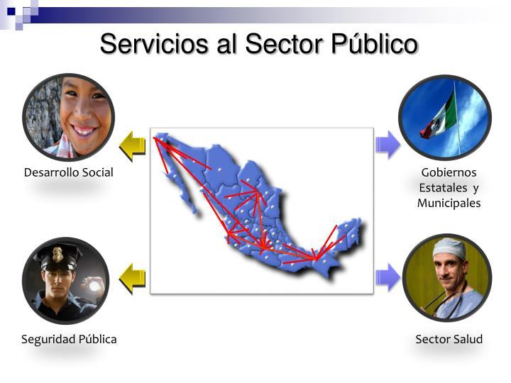 Servicios al Sector Público