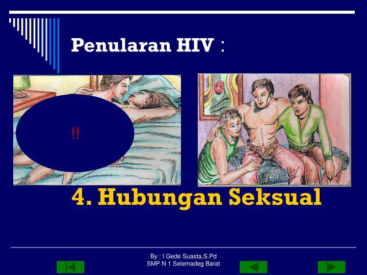 Penularan HIV