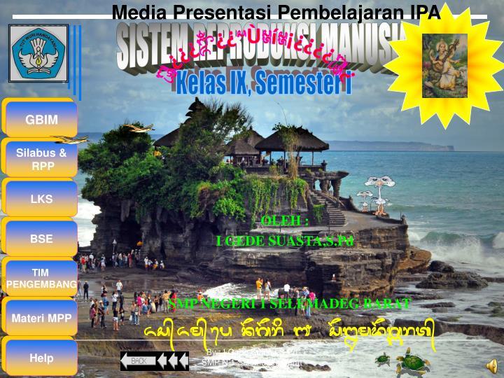 Media Presentasi Pembelajaran IPA