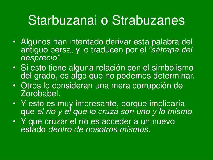 Starbuzanai o Strabuzanes