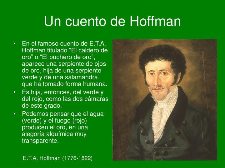 Un cuento de Hoffman