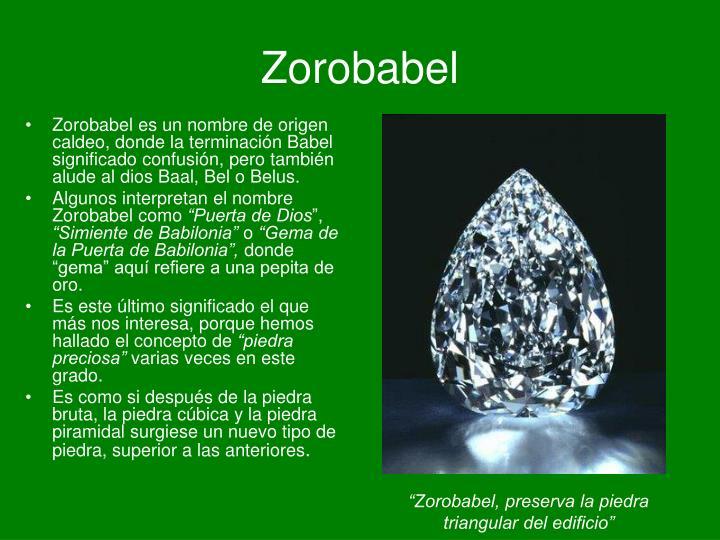 Zorobabel