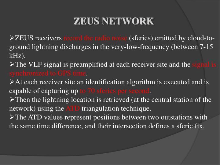 ZEUS NETWORK