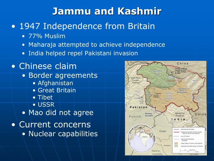 1947 Independence from Britain