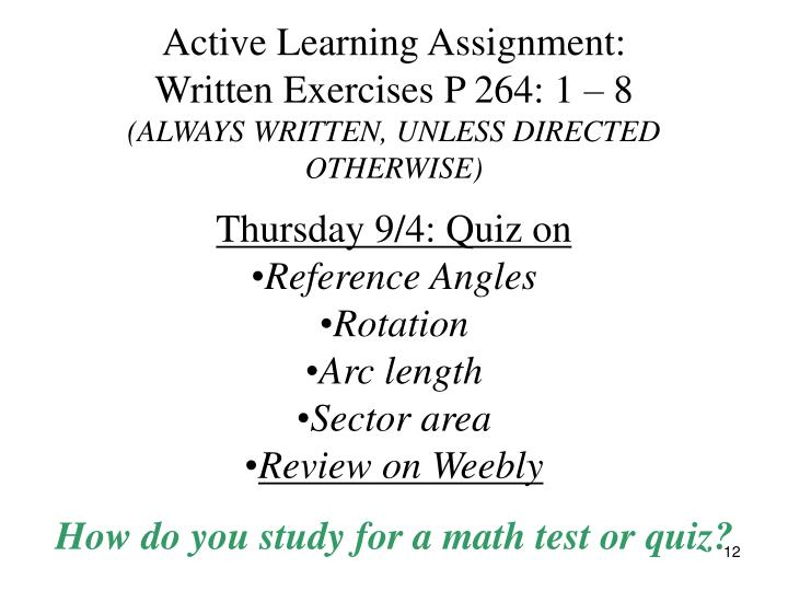 Active Learning Assignment: