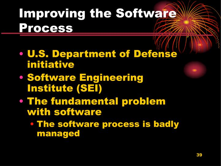 Improving the Software Process