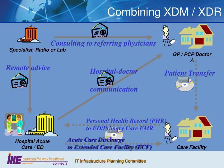 Combining XDM / XDR