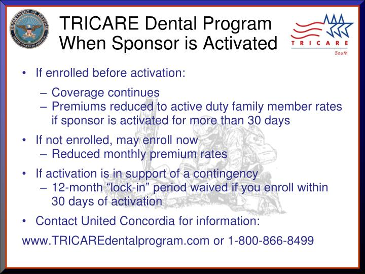 TRICARE Dental Program