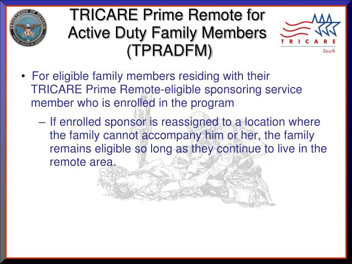 TRICARE Prime Remote for