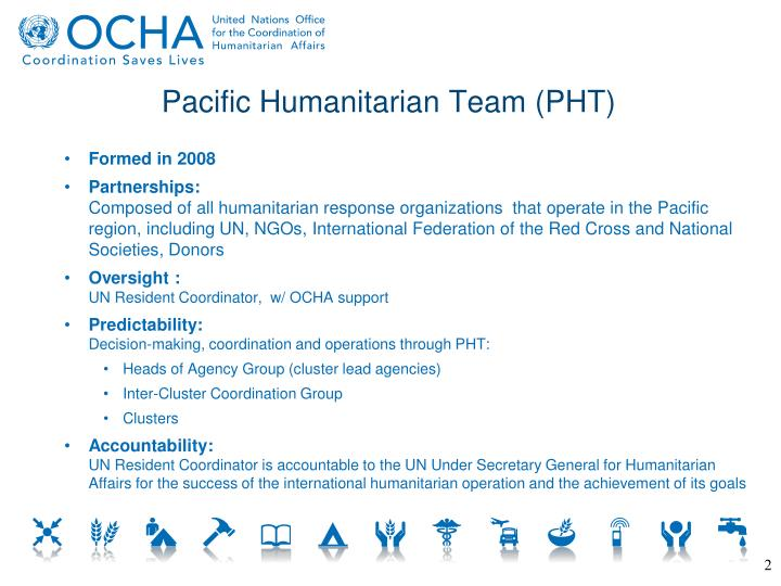 Pacific Humanitarian Team (PHT)