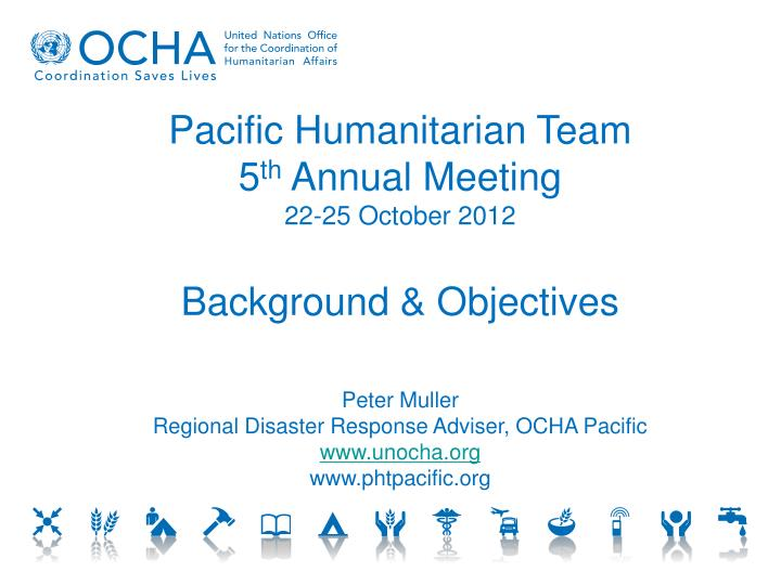 Pacific Humanitarian Team