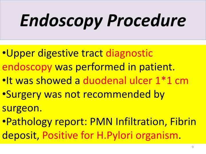 Endoscopy Procedure