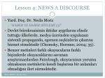 lesson 4 news a discourse9