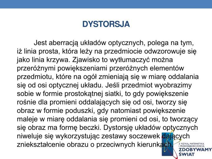DYSTORSJA