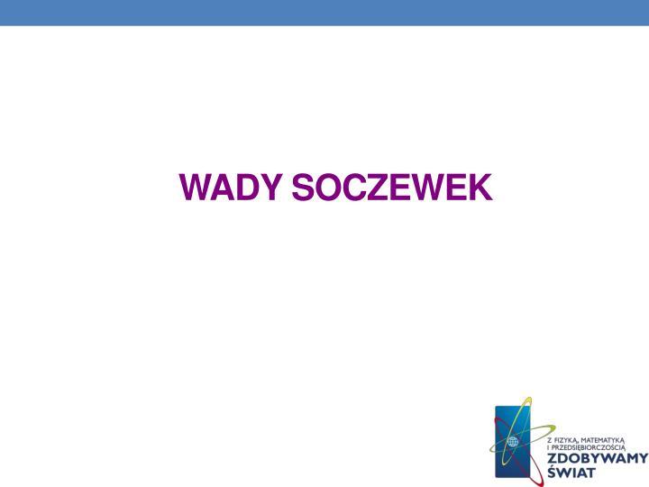 WADY SOCZEWEK