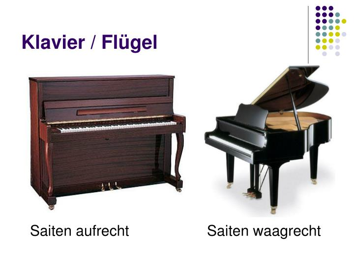 Klavier / Flügel