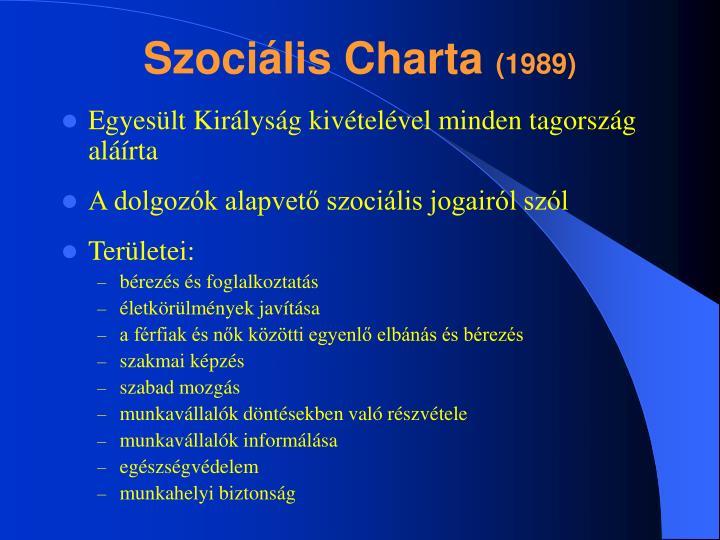 Szociális Charta