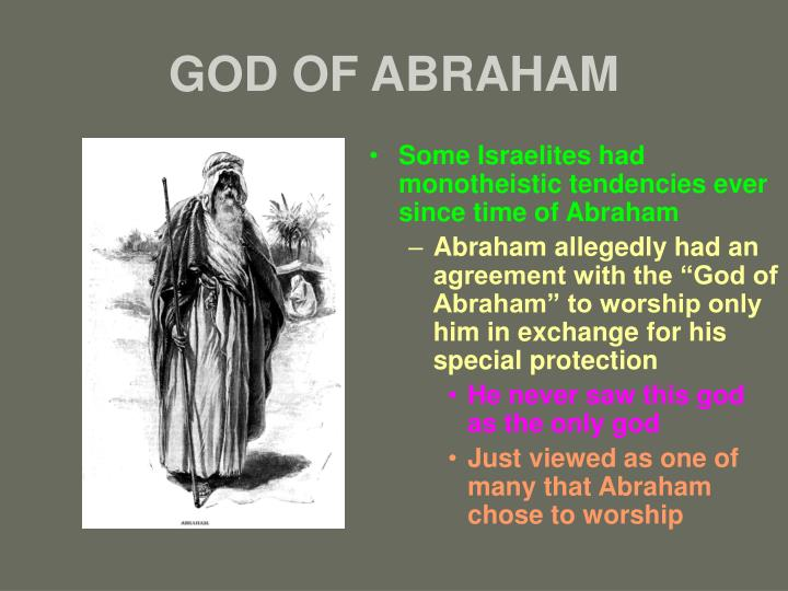 God of abraham