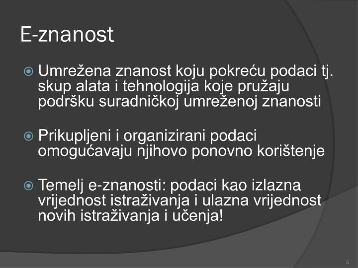 E-znanost