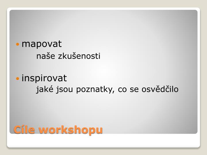 C le workshopu