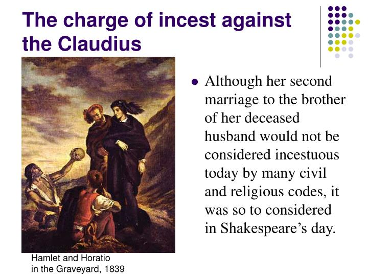 The charge of incest against the Claudius