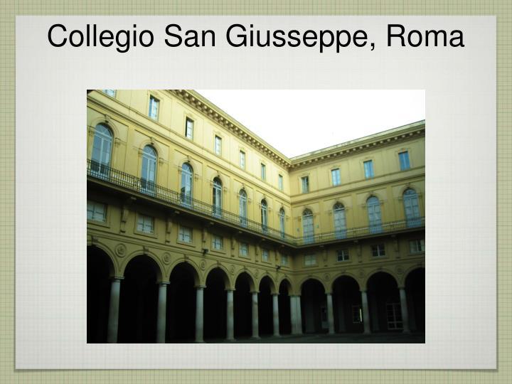 Collegio San Giusseppe, Roma