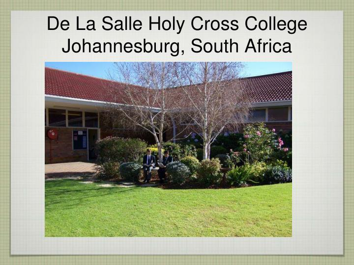 De La Salle Holy Cross College