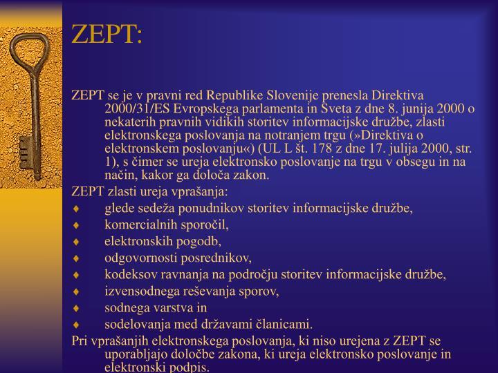 ZEPT: