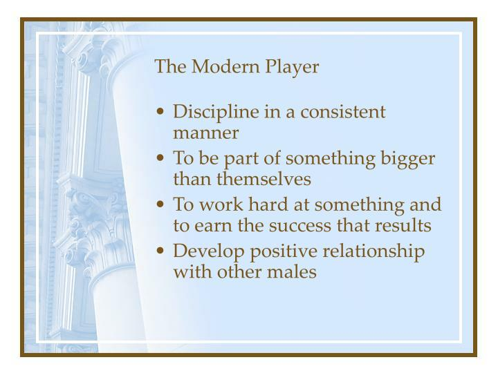 The Modern Player