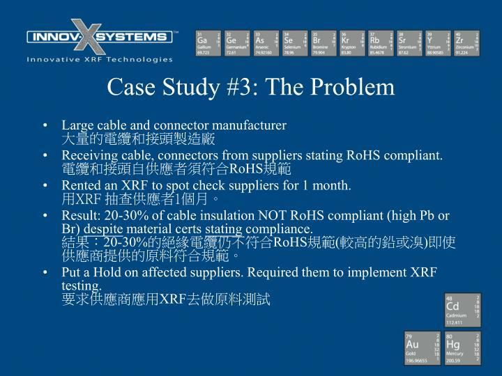 Case Study #3: The Problem