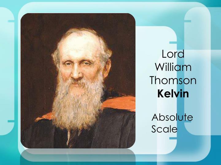 Lord William Thomson