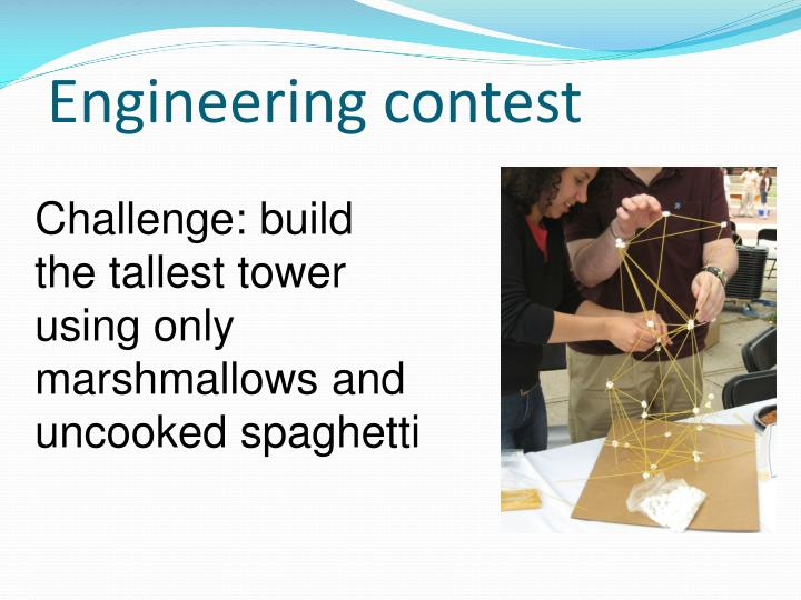 Engineering contest